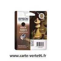 Epson T0511 : cartouche encre noire 24ml