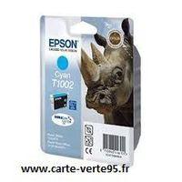 EPSON T1002 : cartouche encre cyan 815 pages