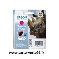 Epson T1003 : cartouche encre magenta 815 pages