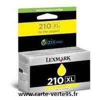 Lexmark 14L0177E : cartouche encre jaune grande capacité 1600 pages N° 210XL