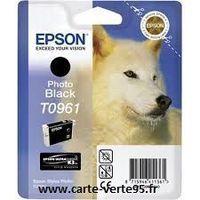 Epson T0961 : cartouche encre photo noire 11,4 ml