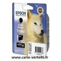 Epson T0968 : cartouche encre noir mat 11,4 ml