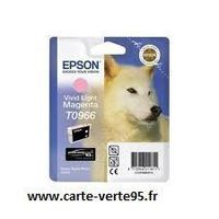 Epson T0966 : cartouche encre magenta clair 11,4ml