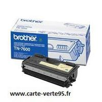 Brother TN-7600 : toner noir original 6500 pages TN7600