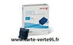 Xerox 108R01026 : boite de 6 encres ColorQube dosées cyan 108R1026