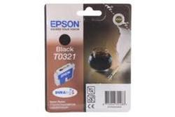 Epson T0321 : cartouche originale encre noire 1200 pages C13T03214010