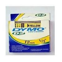 DYMO 61214 : ruban original jaune 10m x 12mm DYMO 6000