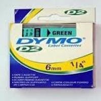 DYMO 60615 : ruban original vert 10m x 6mm dymo 6000