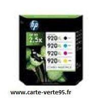 HP C2N92AE : Pack économique 4 cartouches grande capacitéHP N°920XL
